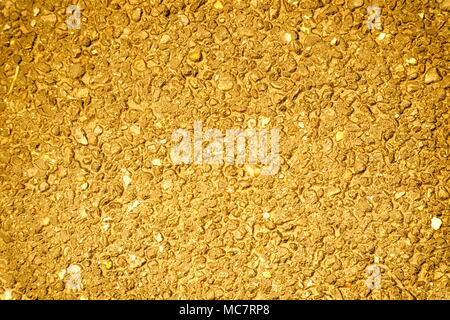 Ultra orange colored Old grungy cement texture, concrete wall background for web site or mobile devices. - Stock Photo
