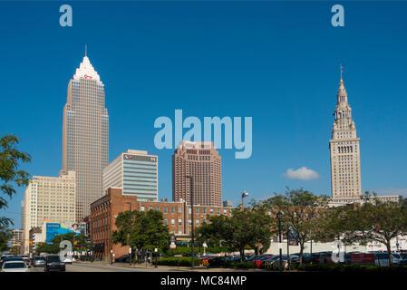 Tower City Center Cleveland Ohio - Stock Photo