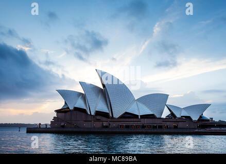 Early morning at Sydney Opera House - Stock Photo