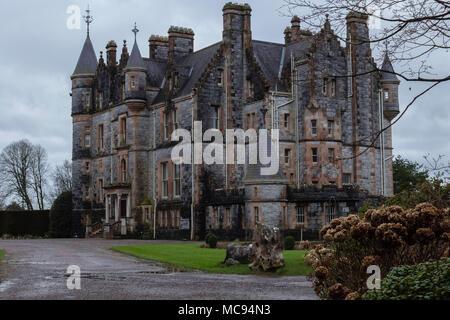Blarney Castle in Cork - Stock Photo