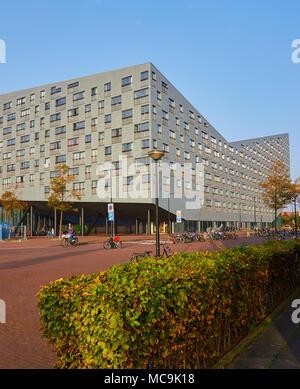 The Whale housing project, Borneo-Sporenburg, Amsterdam, Netherlands. - Stock Photo
