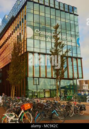 Conservatorium Van Amsterdam, Oosterdokseiland (eastern docklands), Amsterdam, Netherlands. - Stock Photo