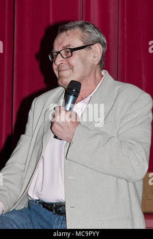 STAMFORD,CT, USA-MAY 28, 2009 : Milos Forman answered the questions about the movie ``One Flew Over the Cuckoos Nest`` on Avon Theatre. - Stock Photo