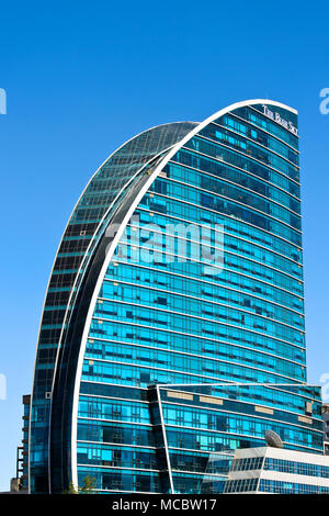 Hotel The Blue Sky, Ulaanbaatar, Mongolia - Stock Photo