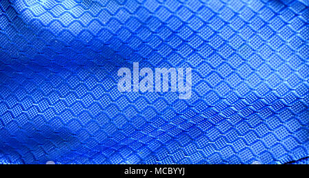 Blue fabric texture stock image. - Stock Photo