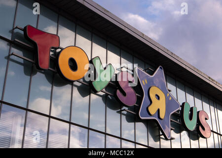 Toys R Us Store In Cardiff Wales Uk All Stores Are Due To Close