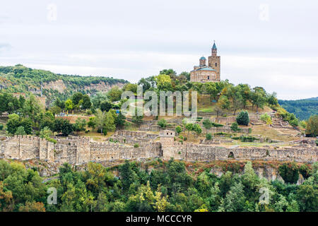 Fortress Tsarevets in Veliko Tarnovo (Bulgaria)