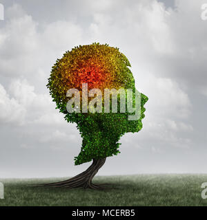 Autism and autistic child diagnosis disorder as a neurology disorder syndrome and a mental health spectrum concept as with 3D illustration elements. - Stock Photo