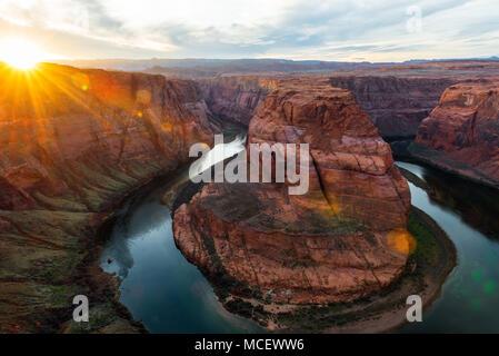 The Grand Canyon National Park, Arizona USA - Stock Photo