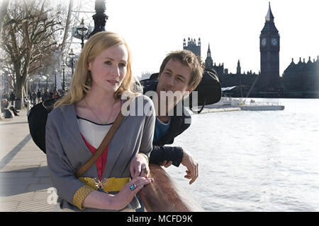 FORGET ME NOT 2010 Quicksilver Films production with Genevieve O'Reilly and Tobias Menzies - Stock Photo