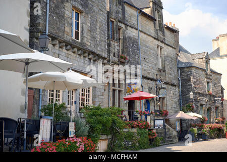 Rochefort-en-Terre is a commune in the Morbihan department of Brittany in north-western France. - Stock Photo