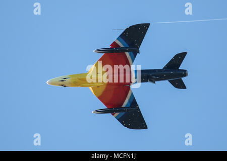 Miss Demeanour heads to Canada - Stock Photo