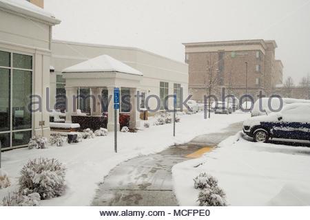 Holiday Inn Suites seen from Hilton Garden Inn Salt Lake City
