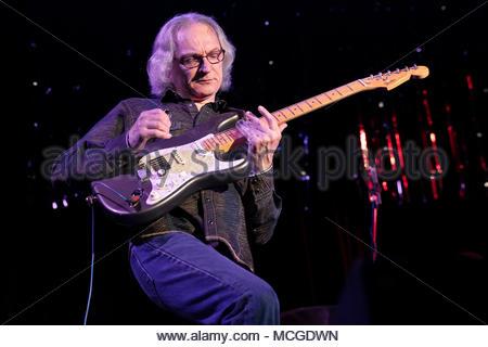 London, UK. 15th Apr, 2018. Blues musician Sonny Landreth performing at The 229 Venue Club. Sunday 15th April, 2018, London, UK. Credit: Alan Ball/Alamy Live News - Stock Photo