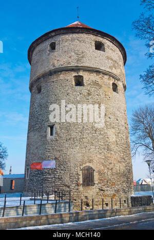 Kiek in de Kök, Vanalinn, old town, Tallinn, Estonia - Stock Photo