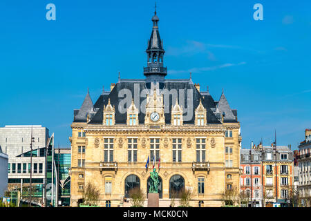 Mairie de Vincennes, the town hall of Vincennes near Paris, France - Stock Photo