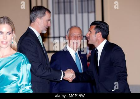 Portuguese president marcelo rebelo de sousa meets with british king felipe vi of spain 2l and portuguese president marcelo rebelo de sousa m4hsunfo