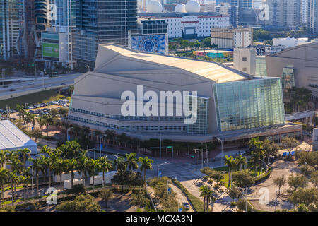 Adrienne Arsht Center for the Performing Arts of Miami-Dade County - Stock Photo