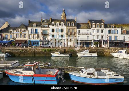 France, Loire-Atlantique, Le Croisic - Stock Photo