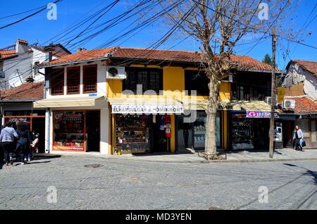 Prizren, an old pittoresque town in Kosovo - Stock Photo