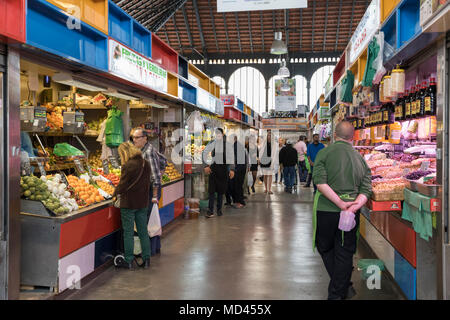 Mercado Central de Atarazanas, Malaga, Costa del Sol, Andalucia, Spain, Europe - Stock Photo