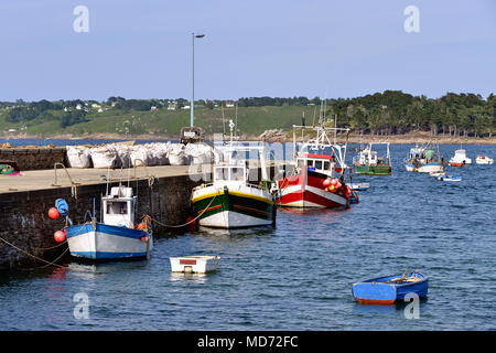 Port of Trédrez-Locquémeau, commune in the Côtes-d'Armor department of Brittany in northwestern France