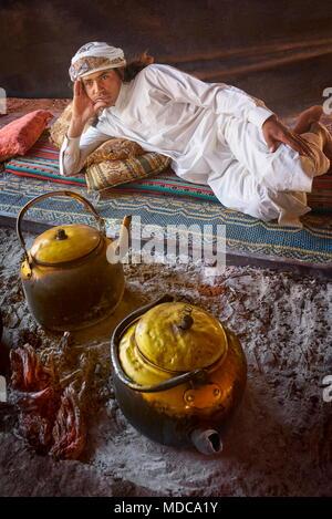 Portrait of young bedouin, Wadi Rum, Jordan