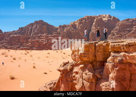 Wadi Rum Desert, Jordan - Stock Photo