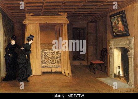Yeames William Frederick - a Visit to the Haunted Chamber - Stock Photo