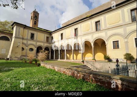 italy, rome, church of sant'onofrio al gianicolo - Stock Photo