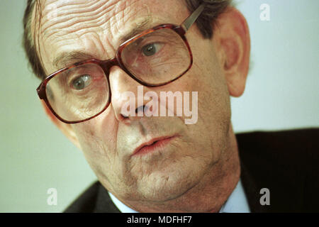 Nicholas Edwards, Lord Crickhowell born 25 February 1934 died 17 March 2018, Conservative Party politician and former Secretary of State for Wales. - Stock Photo