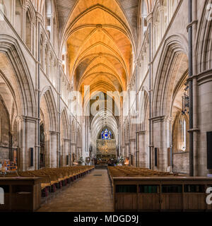 The Cathedral and Collegiate Church of St Saviour and St Mary Overie - Stock Photo
