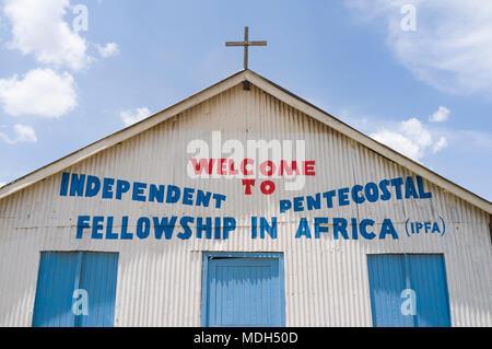 Independent Pentecostal Fellowship in Africa Church, Ngong Road, Nairobi, Kenya - Stock Photo