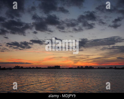 Sunset at Clearwater, Florida, USA 2017, © Katharine Andriotis - Stock Photo