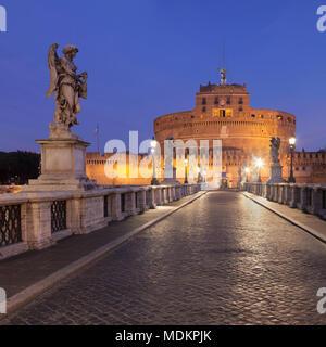 Dawn, Rome, Lazio, Italy - Stock Photo
