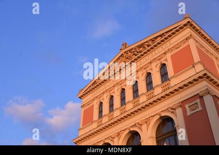 spot- Gesellschaft der Musikfreunde in Wien - Stock Photo