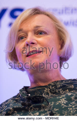 File photo dated 09/11/15 of Royal Mail Group Chief Executive Officer Moya Greene, who has confirmed that she will step down from her role after more than eight years at the helm. - Stock Photo