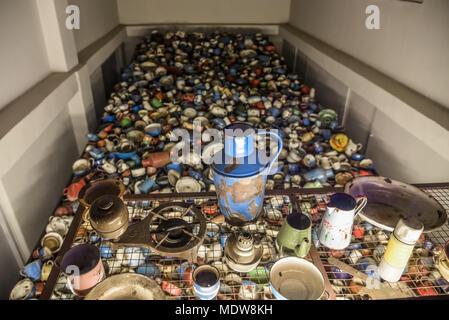 Oswiecim Poland 02 15 2018 Exhibition Of Prisoners