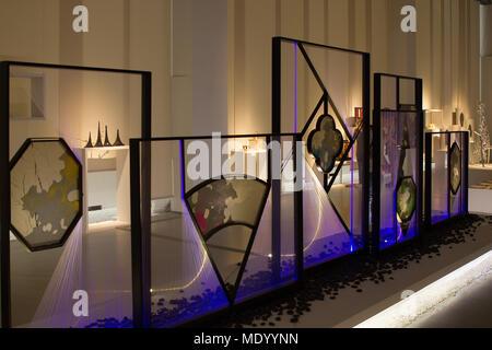 La Treinnale di Milano, Milan, Italy, Design week 2018, installation - Stock Photo