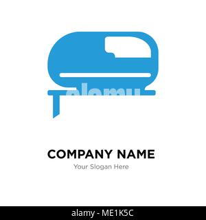grinder company logo design template, Business corporate vector icon - Stock Photo