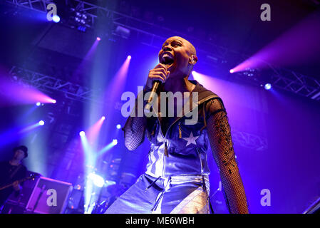 Skunk Anansie live at the O2 Forum, Kentish Town, London. Anarchytecture Tour. February 16th, 2016 - Stock Photo