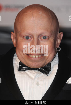 ***FILE PHOTO*** Verne Troyer Has Passed Away at Age 49 PHOENIX, AZ - MARCH 28: Verne Troyer at Muhammad Ali's Celebrity Fight Night XXI at the JW Marriott Desert Ridge Resort & Spa on March 28, 2015 in Phoenix, Arizona. Credit: PGSK/MediaPunch - Stock Photo
