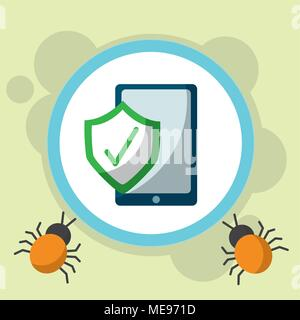 cyber security concept - Stock Photo