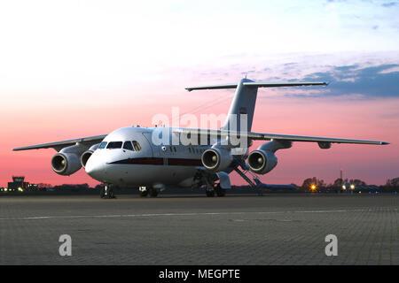 Royal Air Force BAe 146 CC2 - Stock Photo