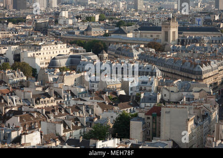 View from Notre Dame, Paris - Stock Photo