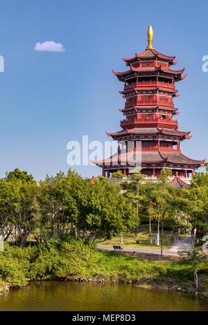 Xinglin Pavilion, The Xiamen International Garden & Flower Expo Park, Jimei District, Xiamen, Fujian, China