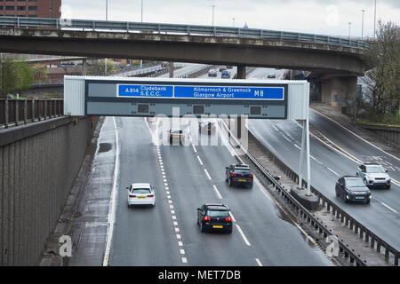 uk motorway signs on overhead gantry junction 42 of the. Black Bedroom Furniture Sets. Home Design Ideas