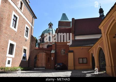 Wroclaw, Poland. 22nd Apr, 2018. April 22.2018 Wroclaw Poland Kluskowa Gate in Wroclaw Credit: Piotr Twardysko/ZUMA Wire/Alamy Live News - Stock Photo