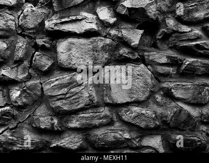3d wallpaper cracked brick wall, bullet hole, destruction, abstract