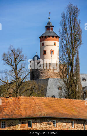 Büdingen Castle, Büdingen, Hesse, Germany, Europe - Stock Photo